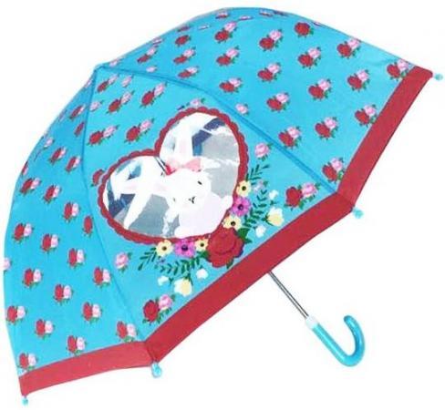 Зонт детский c окошком Rose Bunny, 46см 53598 mary hair 100% dhls 01