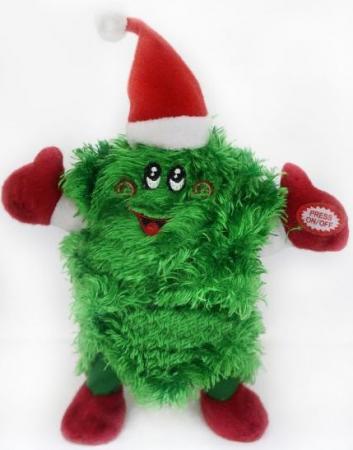 Кукла Новогодняя сказка Елочка 20 см 1 шт зеленый пластик, текстиль 971429 новогодняя сказка новогодняя сказка кукла снегурочка 35 см золотой