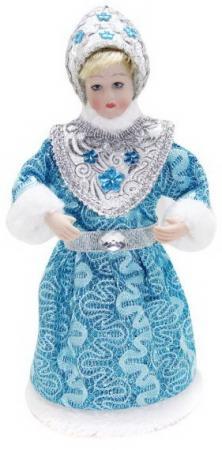 Кукла Снегурочка 22,5 см, гол. новогодняя сказка новогодняя сказка кукла снегурочка 35 см золотой
