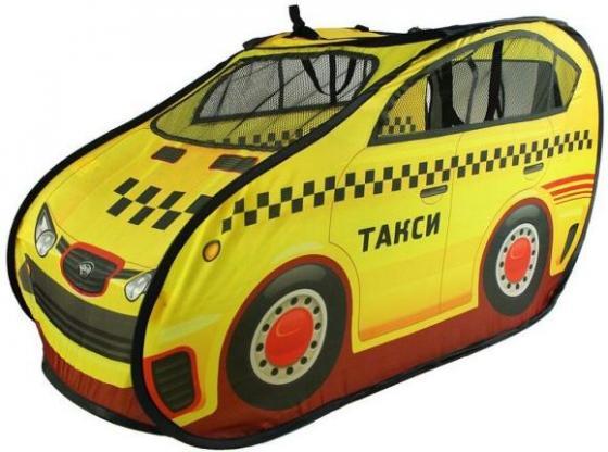 Игровая палатка Наша Игрушка Такси M6847 игровая палатка монстры 112x112x84см