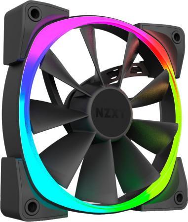 Вентилятор NZXT Aer RGB 120 RF-AR120-T1 120x120x25mm 500-1500rpm mini 6a rgb led rf remote controller