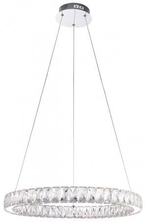все цены на Подвесной светодиодный светильник Eurosvet Грация 90023/1 хром