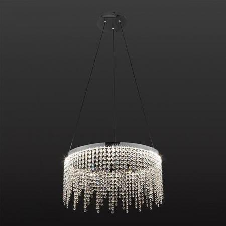 Подвесной светодиодный светильник Eurosvet Royal 90050/1 хром настенный светодиодный светильник eurosvet royal 90049 1 хром