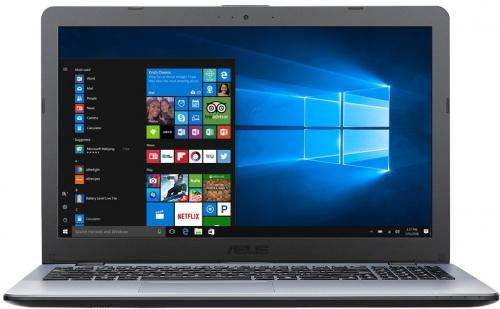 Ноутбук ASUS VivoBook 15 X542UR-GQ501R 15.6 1366x768 Intel Core i5-7200U 500 Gb 4Gb nVidia GeForce GT 930MX 2048 Мб серый Windows 10 Professional 90NB0FE2-M07330