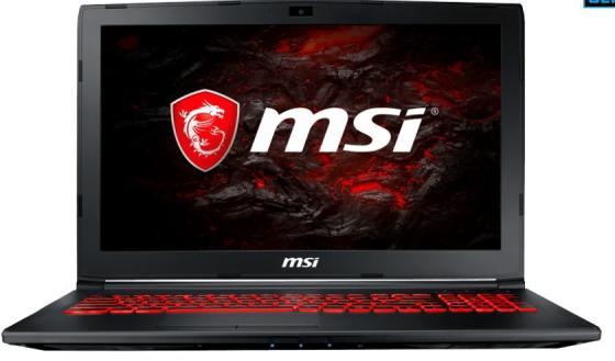 Ноутбук MSI GL62M 7RFX-1257RU 15.6 1920x1080 Intel Core i7-7700HQ 1 Tb 16Gb nVidia GeForce GTX 1060 3072 Мб черный Windows 10 Home 9S7-16JBE2-1257
