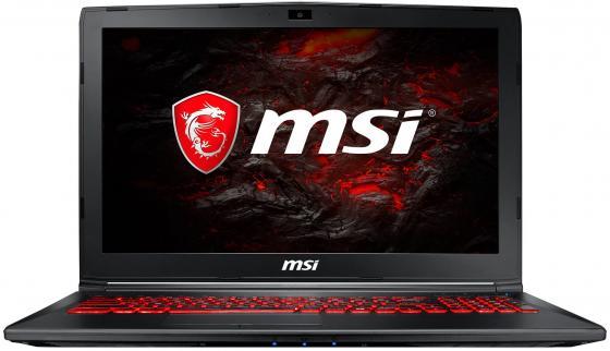 Ноутбук MSI GL62MVR 7RFX-1258XRU 15.6 1920x1080 Intel Core i7-7700HQ 1 Tb 8Gb nVidia GeForce GTX 1060 3072 Мб черный DOS (9S7-16JBE2-1258) ноутбук acer predator triton 700 pt715 51 78su 15 6 1920x1080 intel core i7 7700hq nh q2ker 003