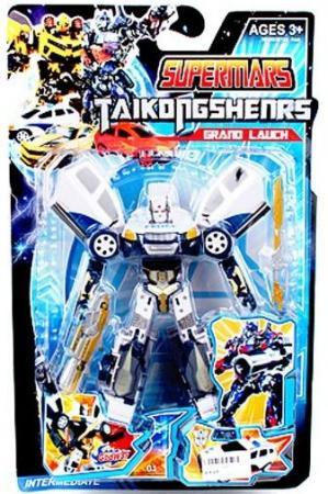 Машина-трансформер Наша Игрушка Робот-полицейская машина 9967-1 инерционная игрушка clementoni полицейская машина