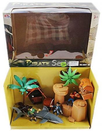 Игровой набор Наша Игрушка Пиратский остров 0807-7 рид т пиратский остров молодые невольники