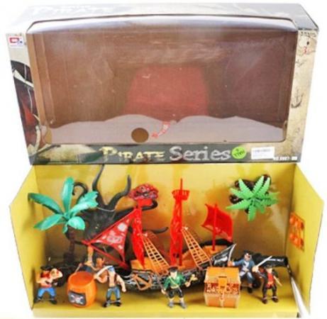 Игровой набор Наша Игрушка Пираты 0807-11 игровой набор наша игрушка пираты 15998d