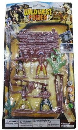 Игровой набор Наша Игрушка Индейцы 635458 игровой набор наша игрушка спецназ