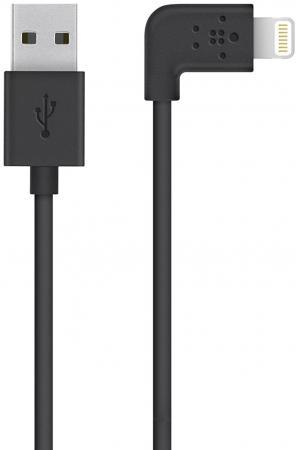 Кабель Lightning 1.2м Belkin F8J147bt04-BLK плоский черный кабель lightning 1 2м belkin mixit круглый черный f8j144bt04 blk