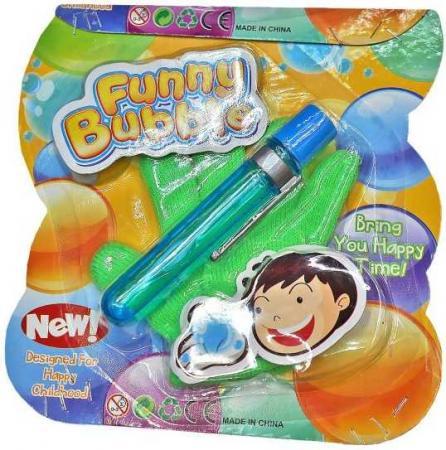 Мыльные пузыри нелопающиеся Наша Игрушка Мыл.пузыри с перчаткой 20 г 635315 большие нелопающиеся пузыри шалтай болтай синие