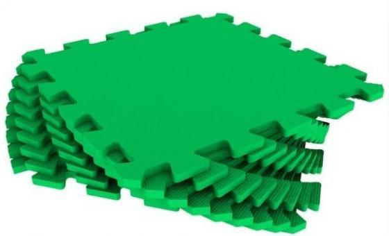 Мягкий пол универсальный зеленый 9 дет (1 дет - 33*33 см) цена