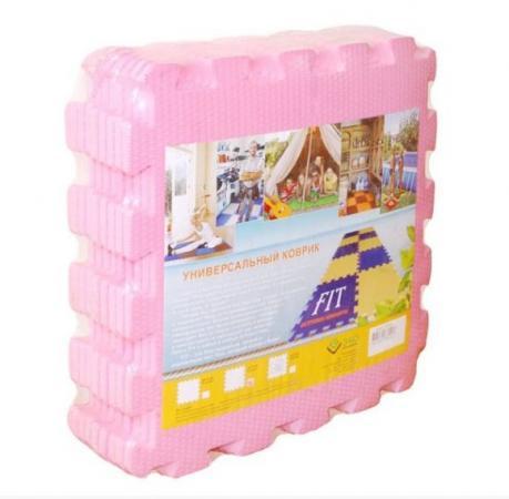 Мягкий пол универсальный розовый 9 дет (1 дет - 33*33 см) weissgauff ascot 575 eco granit бежевый