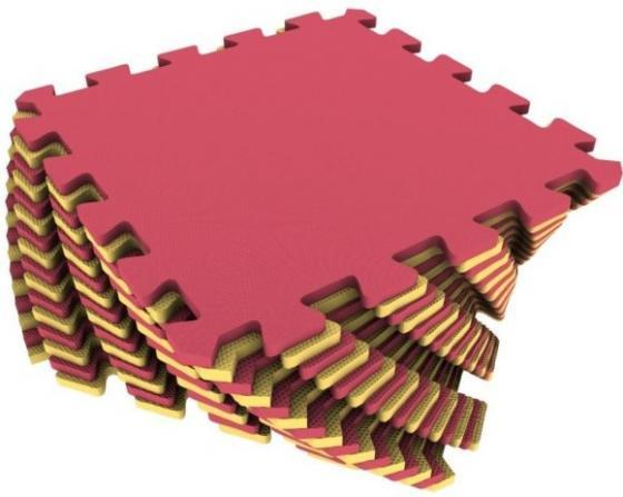 Мягкий пол универсальный желто-красный 16 дет (1 дет - 25*25 см) weissgauff ascot 575 eco granit бежевый