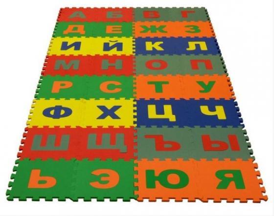 Коврик-пазл Русский Алфавит 32 дет (1 дет - 25*25 см) пазл деревянный жираф 6 дет 14х14 см