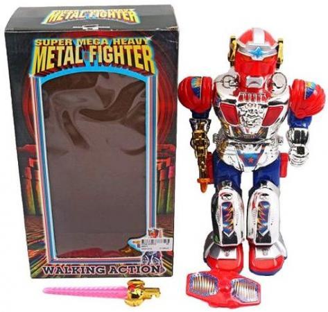 Интерактивный робот Наша Игрушка Робот со звуком светящийся 9188 hap p kid игрушка робот red revo 3578t