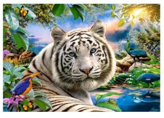 Пазлы 1500 Тигр пазлы дрофа медиа бархатные пазлы тигр новинка черный бархат