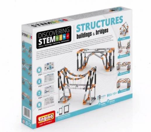купить Конструктор ENGINO Здания и мосты STEM06 онлайн