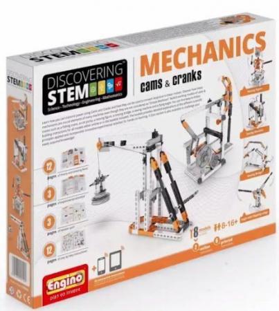 Конструктор ENGINO Механика кулачки и кривошипы STEM04 цены