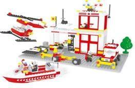 Конструктор Ausini Пожарные 433 элемента 21701 ausini 20209 поезд