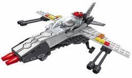 Конструктор Ausini Космический корабль 113 элементов 25466 город игр конструктор космический корабль будущего