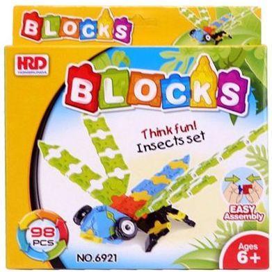 Конструктор 3D Наша Игрушка Стрекоза 98 элементов A1012344B игрушка