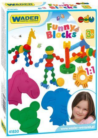 Конструктор Wader Funny blocks 36 элементов 41830. цена
