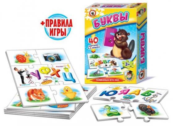 Настольная игра обучающая Русский Стиль Буквы 03989 настольная игра стиль жизни доббль ут000001805