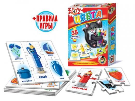 Настольная игра обучающая Русский Стиль Цвета 03996 русский стиль обучающая игра умные игры времена года