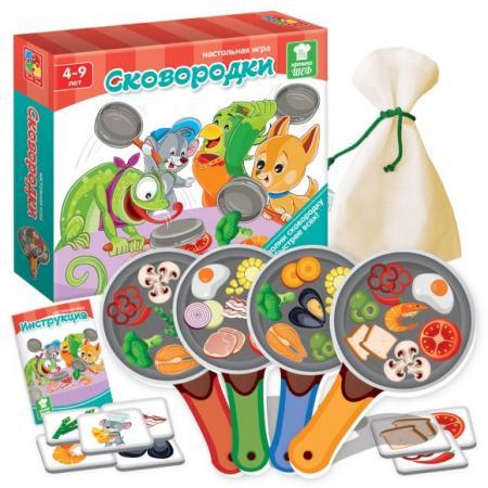 цена Настольная игра обучающая Vladi toys Сковородки VT2309-09