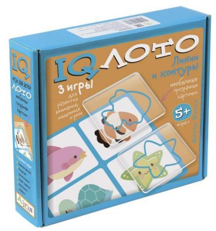Настольная игра лото АЙРИС-ПРЕСС Линии и контуры 26124 айрис пресс обучающая игра счет и форма для детей 4 6 лет