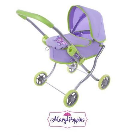 цена на Коляска для кукол Mary Poppins Бабочки 67271