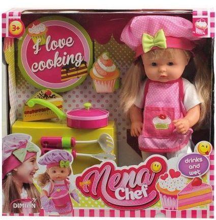 Кукла BABY NENA шеф-повар, 36 см цены онлайн
