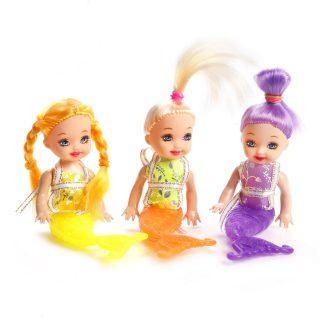 Куклы русалки 3 шт. в асс-те куклы русалки 3 шт в асс те