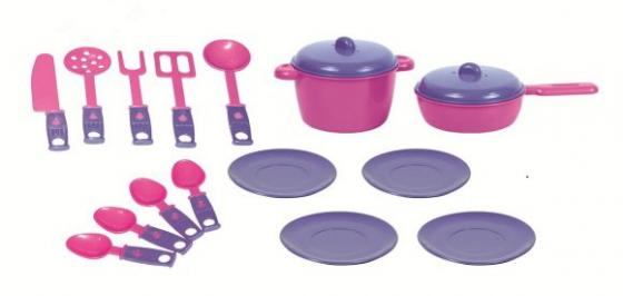 Набор посуды ZebraToys Обед 15-10037-5 zebratoys набор игрушечной посудки zebratoys повар 7 предметов