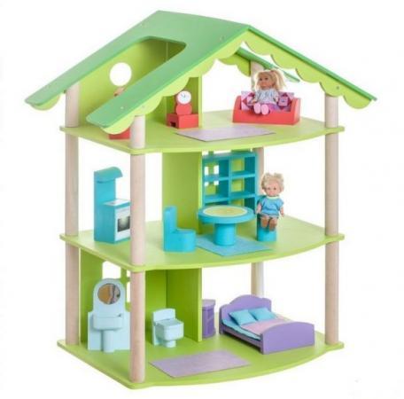 Кукольный домик Фиолент, для кукол до 15 см (14 предметов мебели) цена и фото