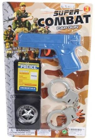 Набор Наша Игрушка Военная полиция синий черный серый 9018L-6 игрушка
