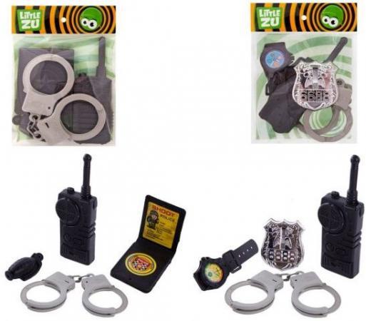 Набор Little Zu Набор Полицейского серый черный 90036CD urban decay little vices набор little vices набор