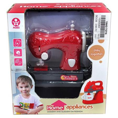 Швейная машинка Наша Игрушка Швейная машинка со звуком и светом Y3063384 швейная машинка avex hq 883