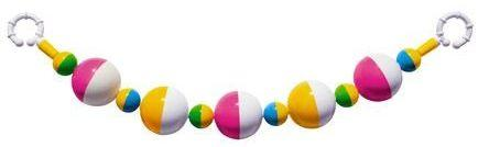 Погремушка-подвеска шарики стеллар погремушка светлячок стеллар