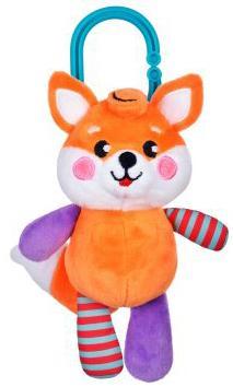 Подвеска-погремушка с вибрацией Лисенок игрушка подвеска лисенок
