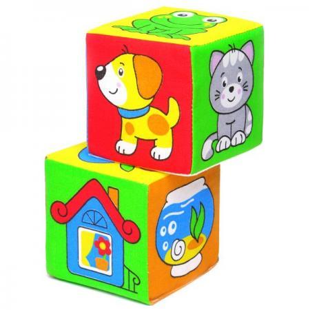 Кубики МЯКИШИ Чей домик 2 шт 111 кубики мякиши животные 2 236