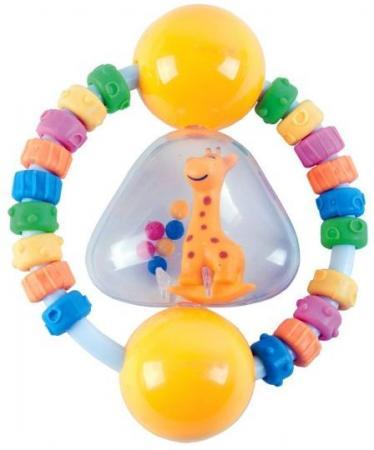 Погремушка-прорезыватель Радужный жирафик стеллар погремушка дудочка стеллар
