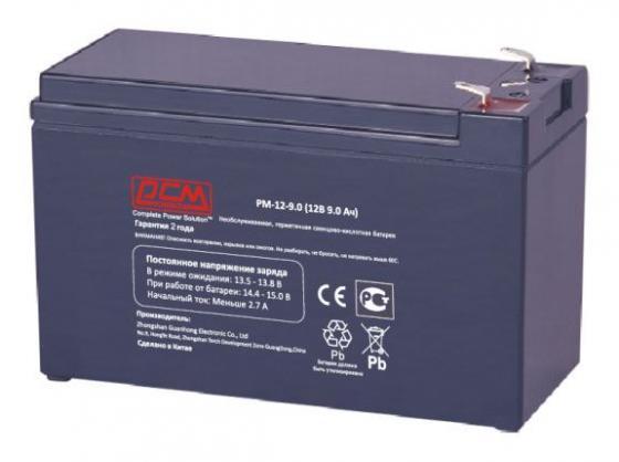 Купить Батарея Powercom PM-12-9.0 12Вт 9Ач, необслуживаемая