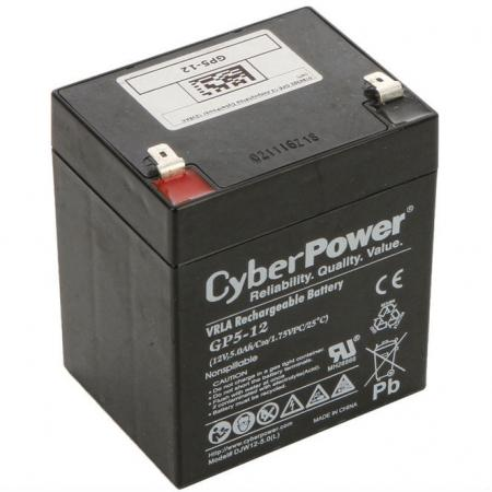 Батарея CyberPower 12V 5Ah GP5-12 батарея 3cott 12v 4 5ah rt1245