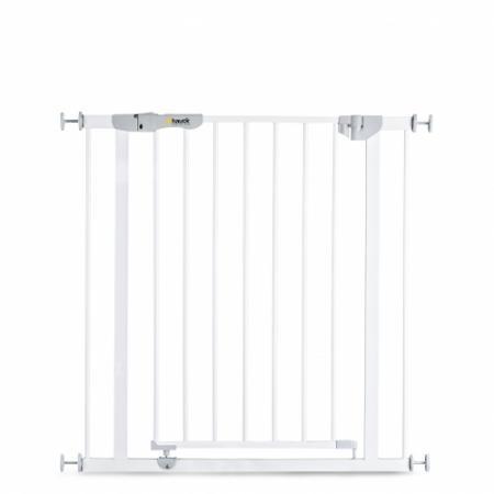 Ворота безопасности Hauck Autoclose`n Stop 75-81 см 597255 (white) барьеры и ворота red castle auto close ворота безопасности для дверей и лестниц 68 5 75 5