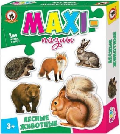 Пазл 20 элементов Русский Стиль Лесные животные 03524 цена в Москве и Питере