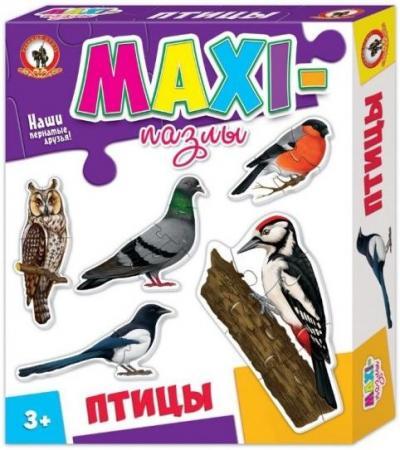 Пазл 20 элементов Русский Стиль Птицы 03530 русский стиль пазл для малышей птицы 5 в 1