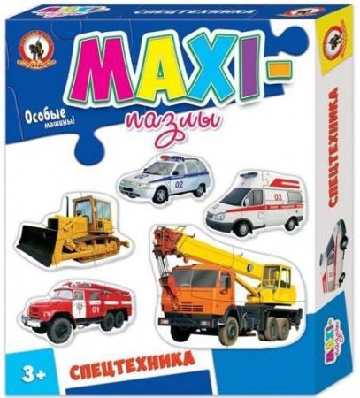 Пазлы Макси Спецтехника